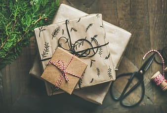 Shallow focus photography of present boxes