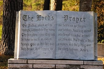 The Lord's Prayer statue