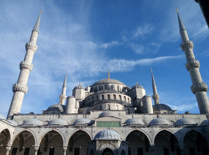 Blue Mosque at daytime