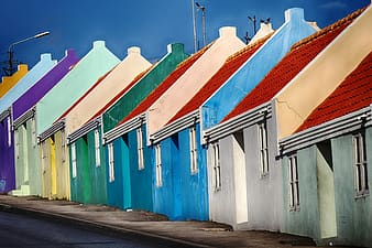 Photo of assorted-color of houses