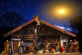 Photo of The Nativity illustration