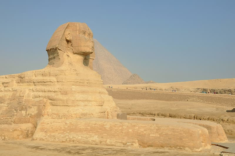 Great Sphinx of Giza, Egypt during daytime