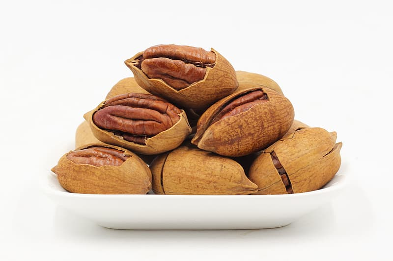 Plate of nuts