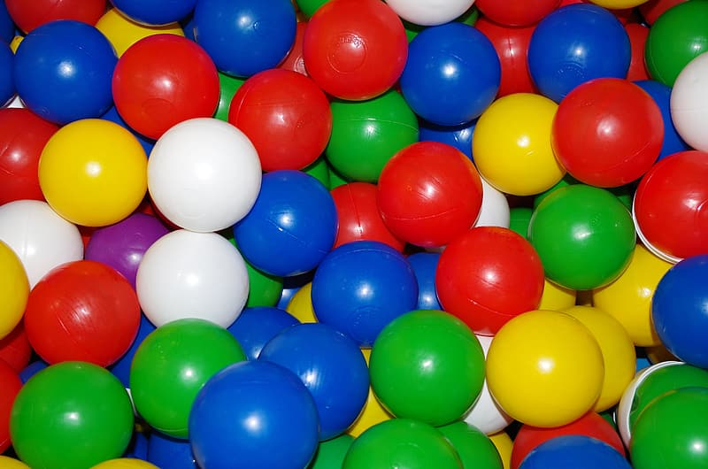 Assorted-color ball toys