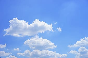 Photo of white clouds during daytime