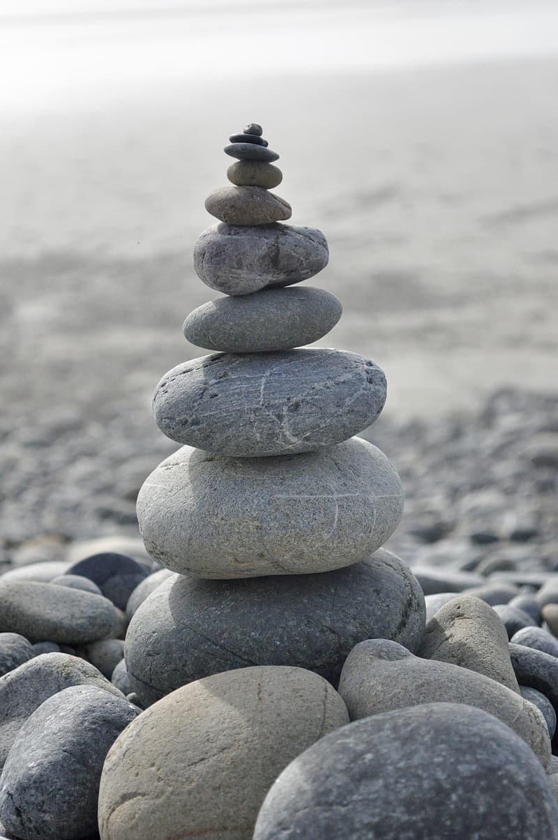 Stack of pebbles