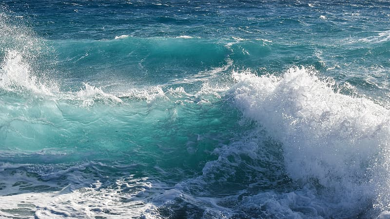 Close up photography of ocean waves
