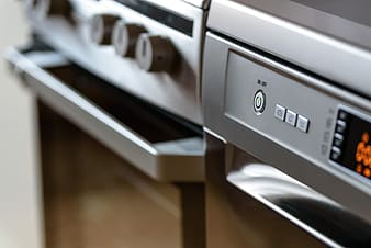 Gray home appliance
