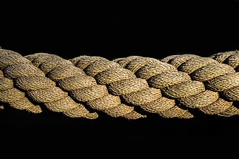Close up photography of rope