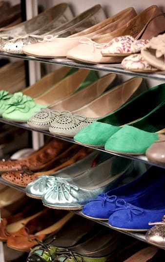 Assorted pairs of flats