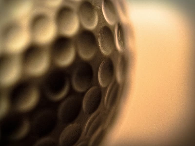 Untitled, golf ball, golf, ball, abstract, background, close-up, indoors, no people, selective focus