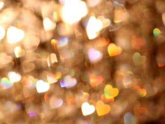 untitled, bokeh, blur, lights, background, hearts, shine, glitter, colourful, color