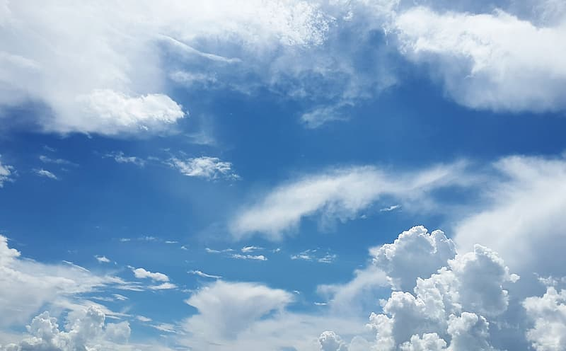 Clouds during daytime