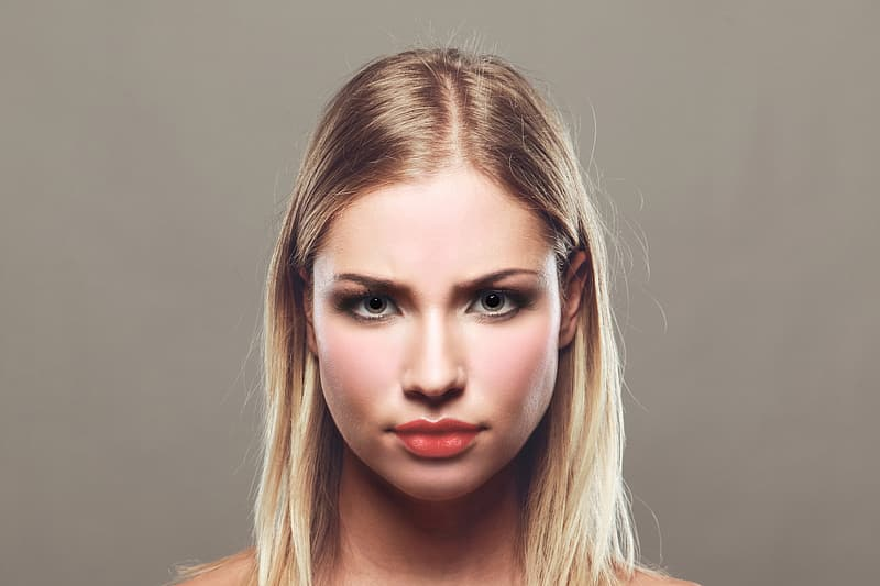 Photo of woman with blonde hair