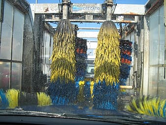 Outdoor carwash