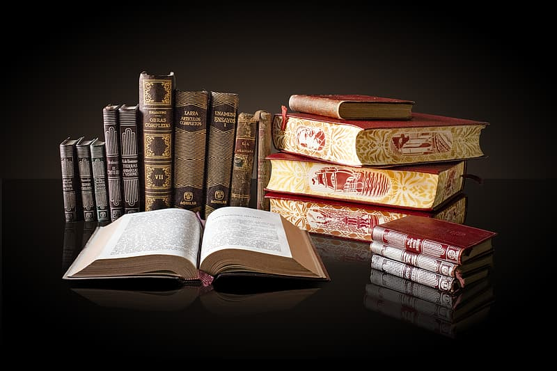 Assorted-titled books
