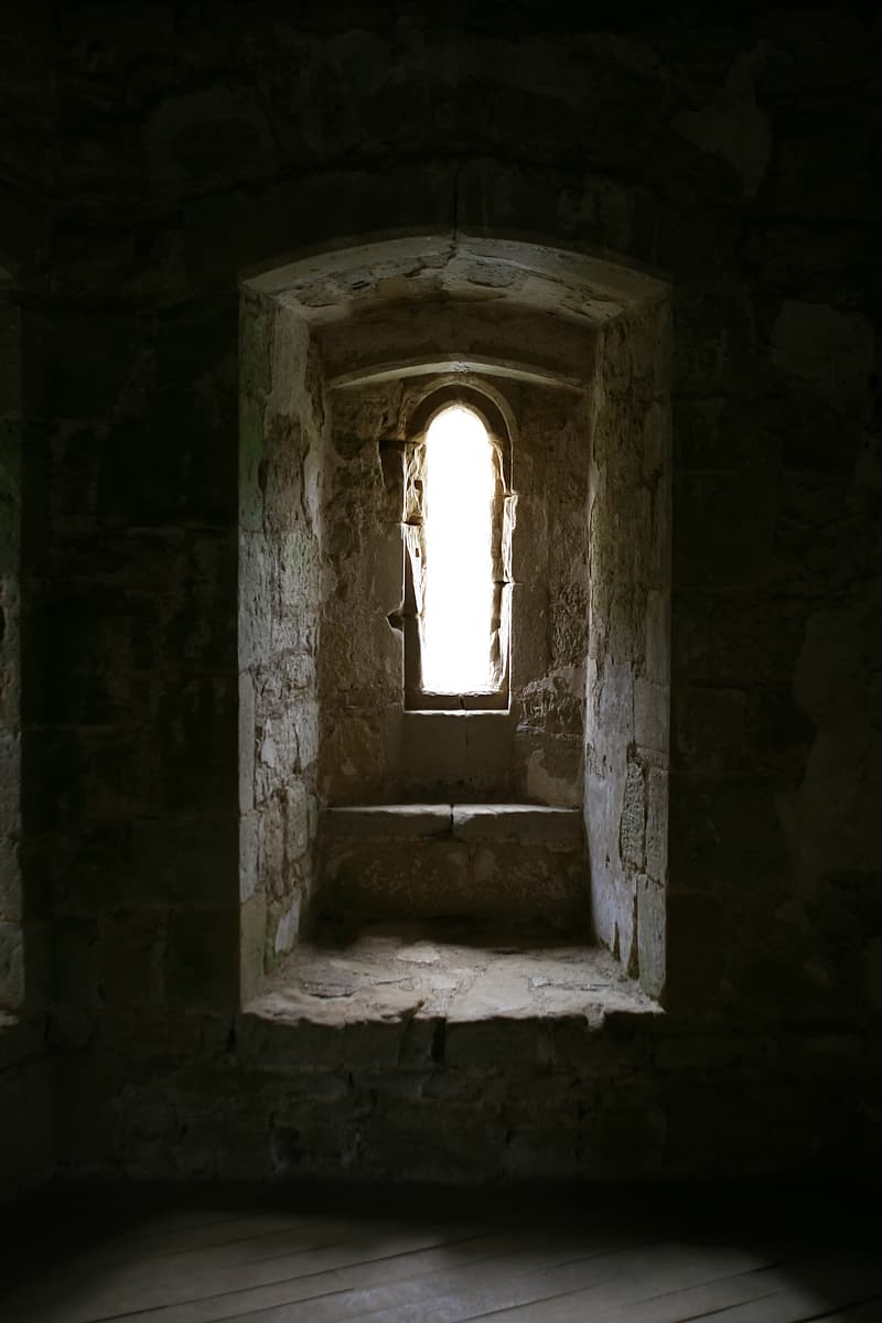 Photo of ancient structure window