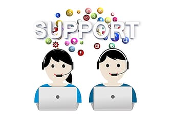 Text support clip art
