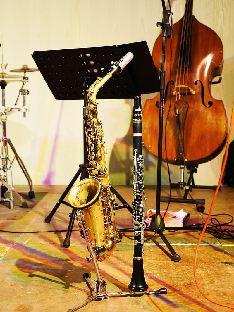 Several musical instrument photo