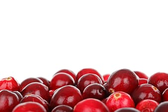 Round red fruits lot