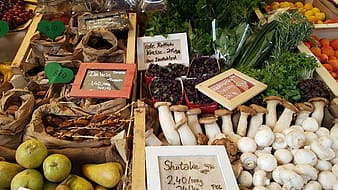 Variety of spices and vegetables