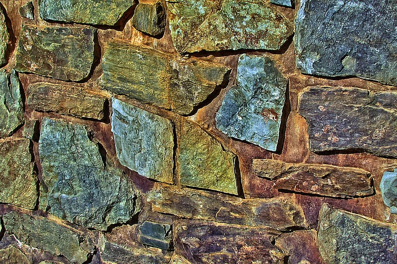 Brown and gray stone surface