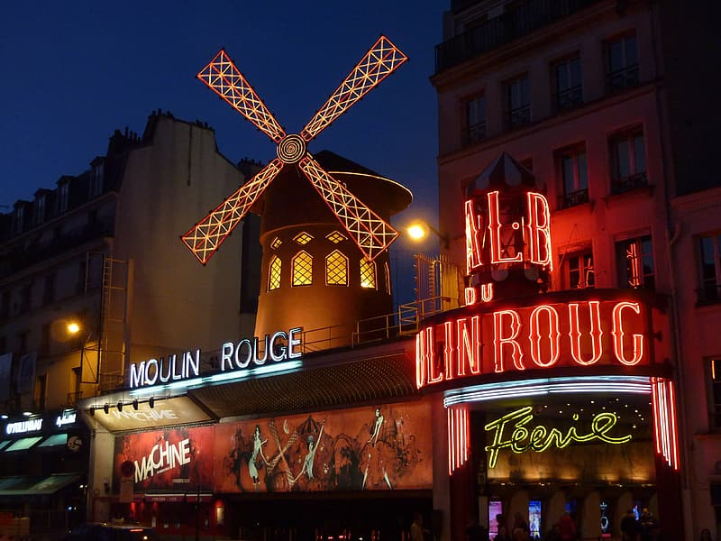 Moulin Rouge signage
