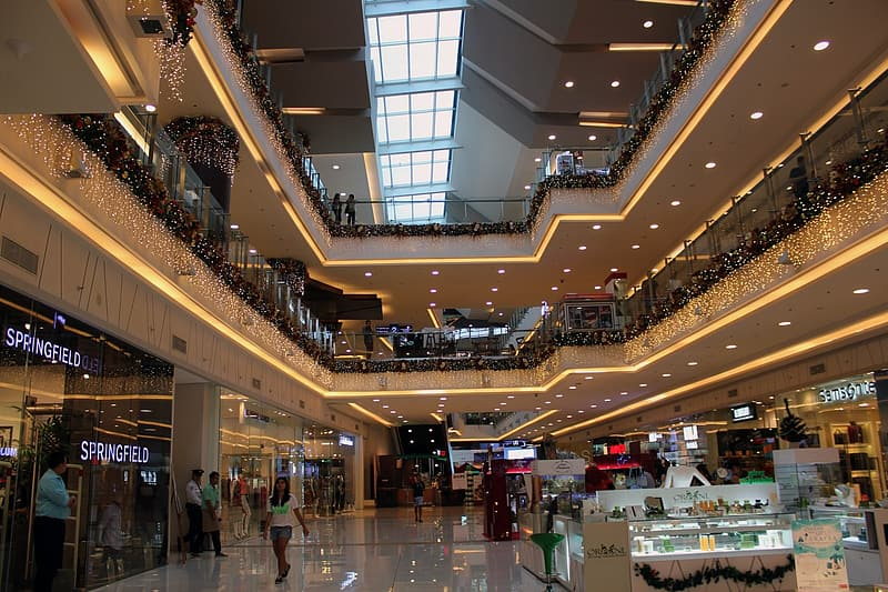 Photography of people in mall