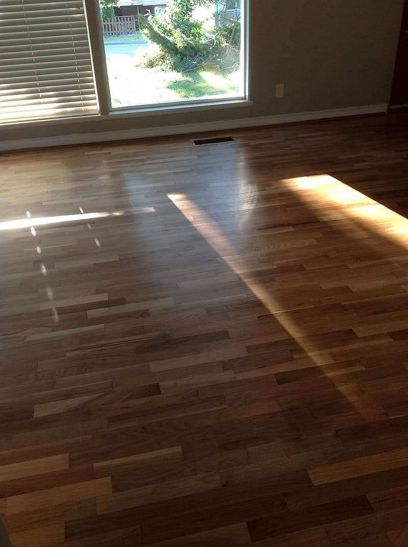 View of wooden flooring