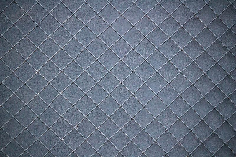 Black and gray checkered textile