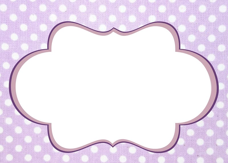 Purple and white clouds illustration