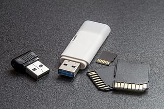 Flash drive and micro SD cards