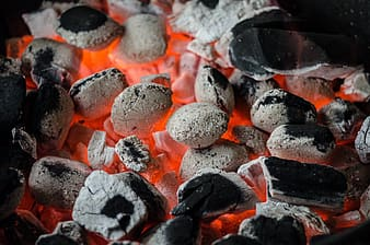 Photo of gray and black charcoal