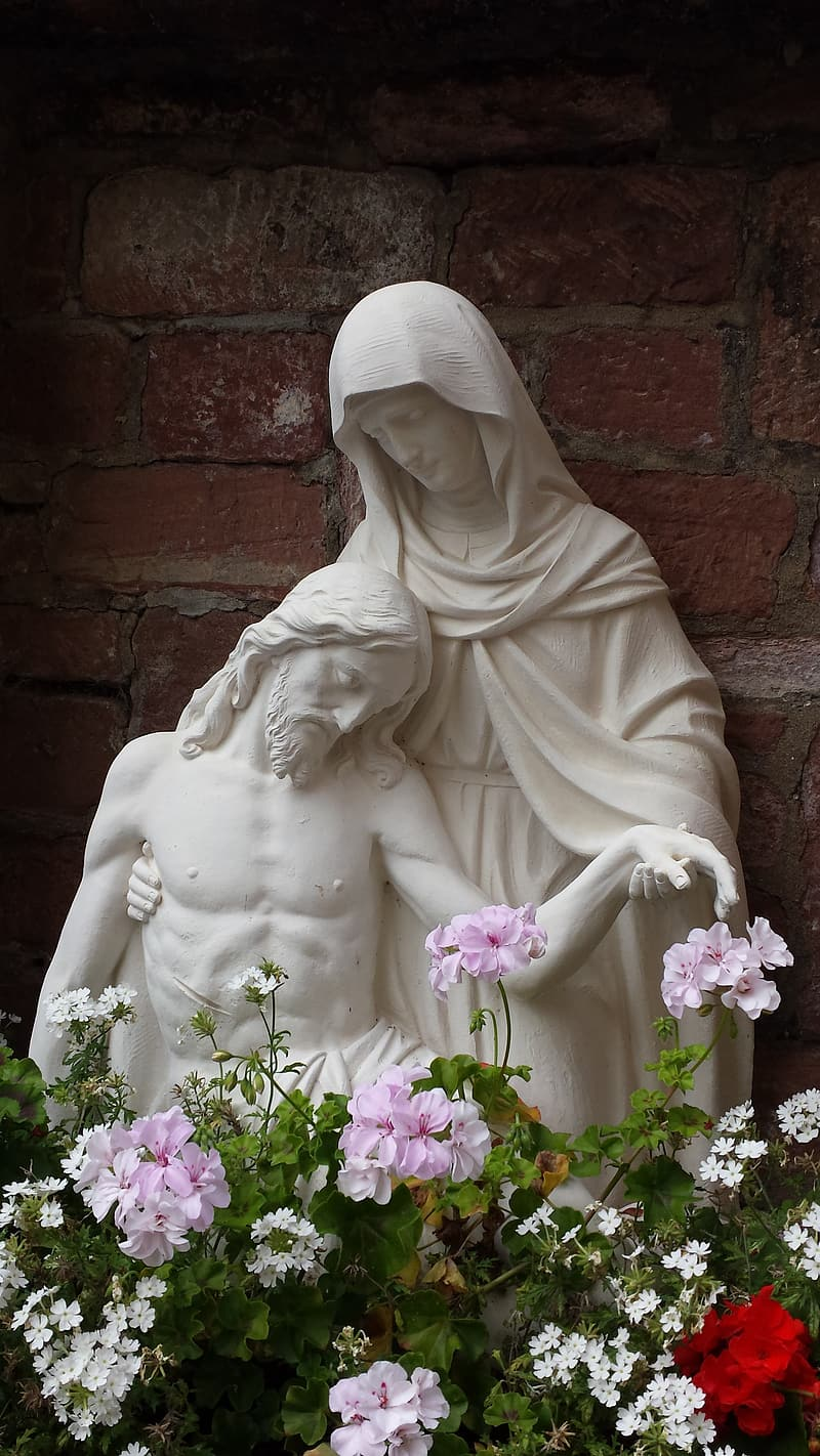 Jesus and Mary statue