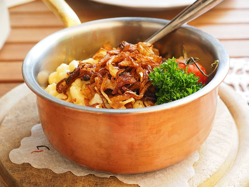 Photo of cooked food in pot
