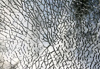 Cracked mirror