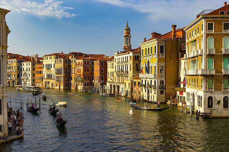 Venice Canal during daytime
