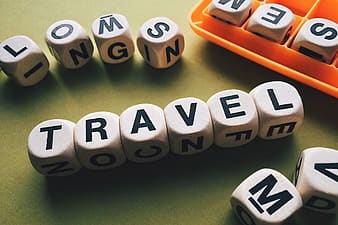 Travel letters and word