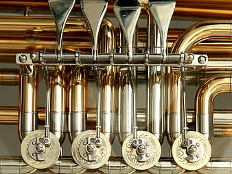 Stainless steel wind instrument