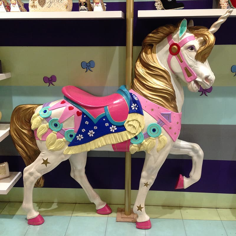 Carousel horse decor
