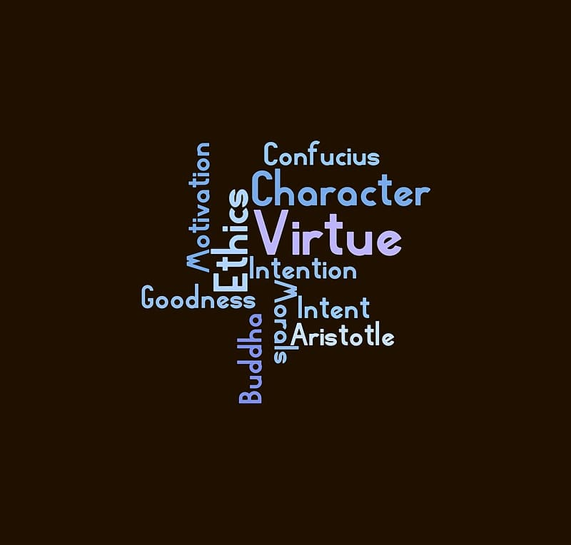 Word cloud digital wallpaper
