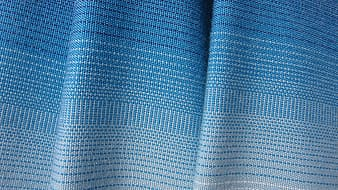 White and blue ombre textile