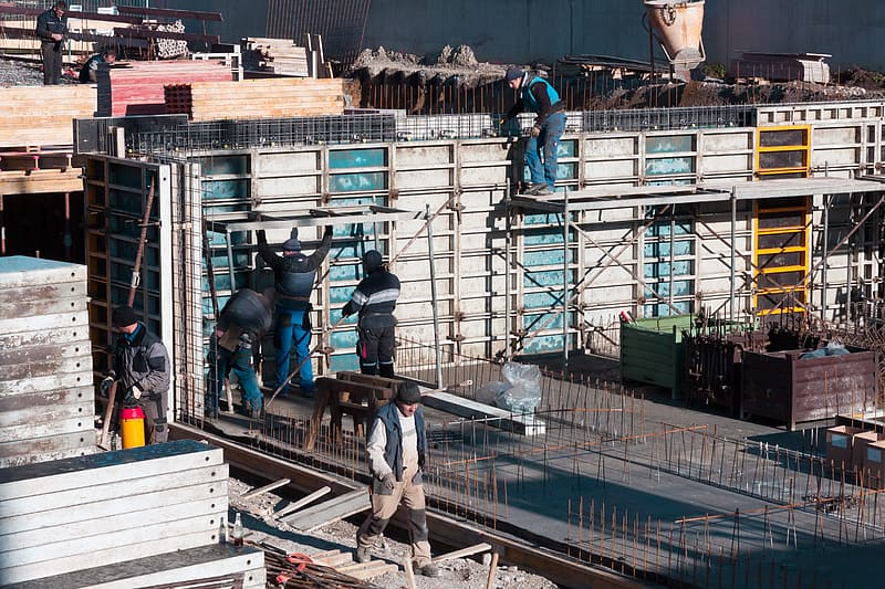 Site, Construction Workers