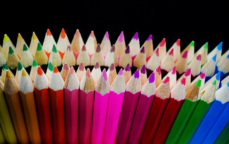 Photo of coloring pencil lot