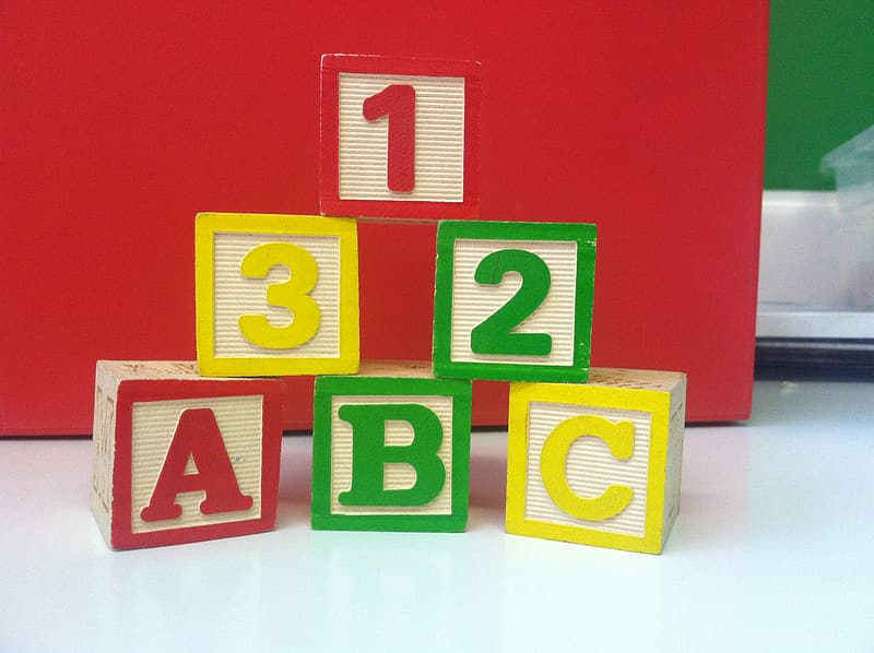 Stack of learning blocks