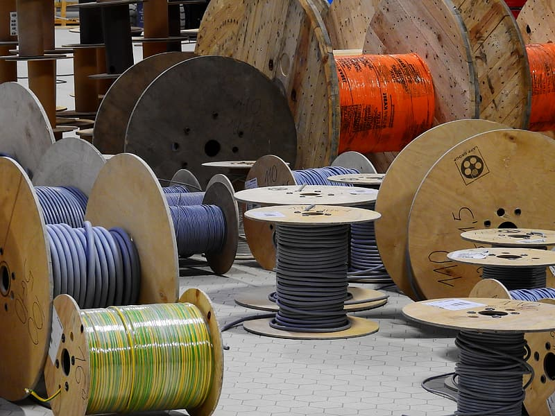 Spool of wire lot