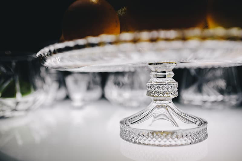 Gold and silver table decor