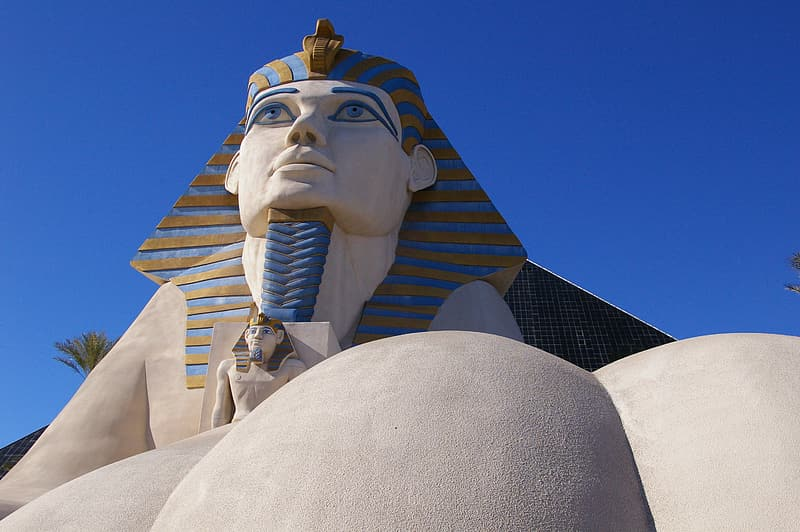 Sphinx during daytime