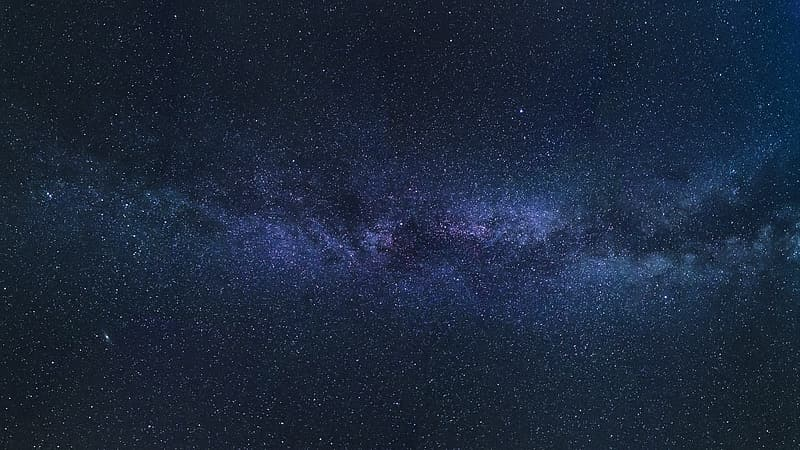 Long exposure photography of star
