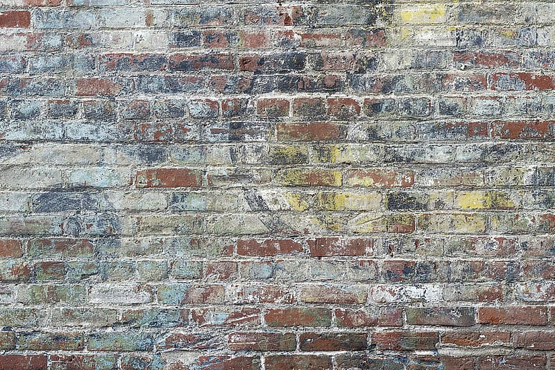 Concrete brick wall photograph